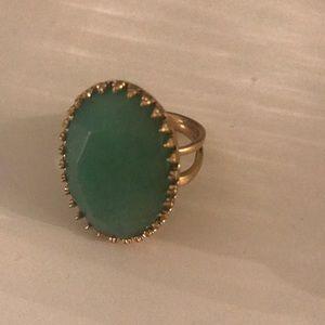 Stella & Dot turquoise ring